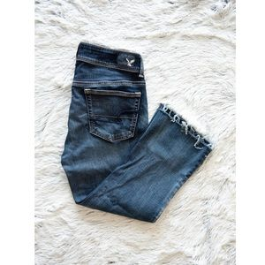 AEO Kick Boot Cropped Jeans